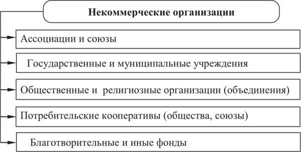 некоммерческие организации муниципальных образований цель создания