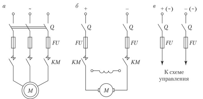 Схема сигнализации и блокировки фото 609