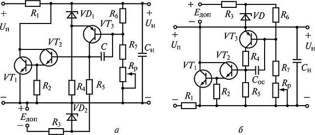 Стабилизаторы напряжения параллельной схемы стабилизаторы напряжения от 90